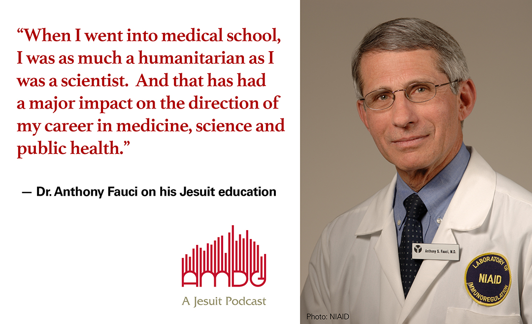 Dr. Anthony Fauci. AMDG podcast