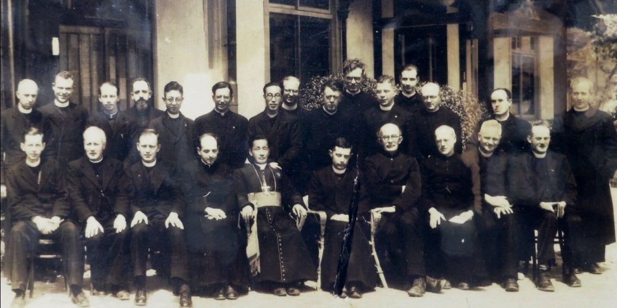 Pedro Arrupe, SJ, in Japan